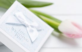 Silver sixpence Gift Wedding Pin