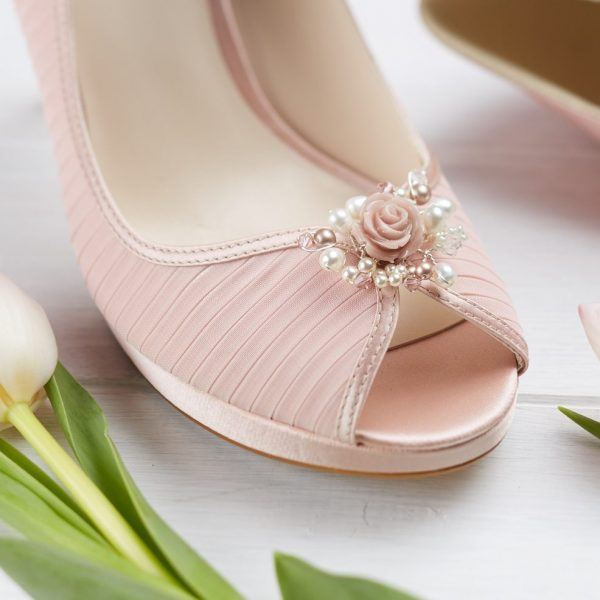 Flora Wedding Shoe Clips