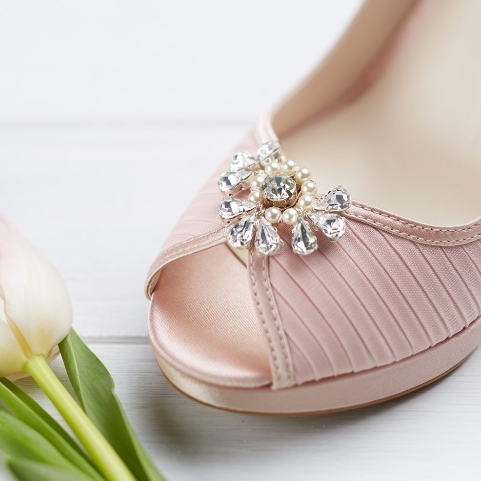 2f4f0f296b0 Chloe Shoe Clips - crystal embellishments for wedding shoes!