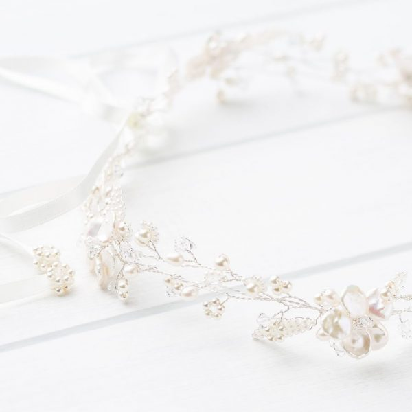 Elodie Wedding Circlet Headpiece