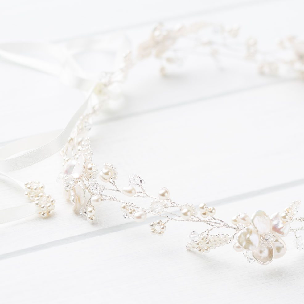 Elodie Wedding Circlet Headpiece