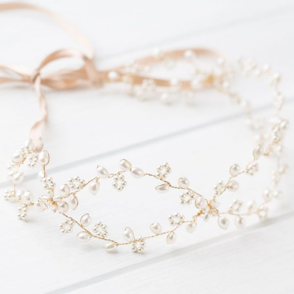 Lisle Wedding Headpiece