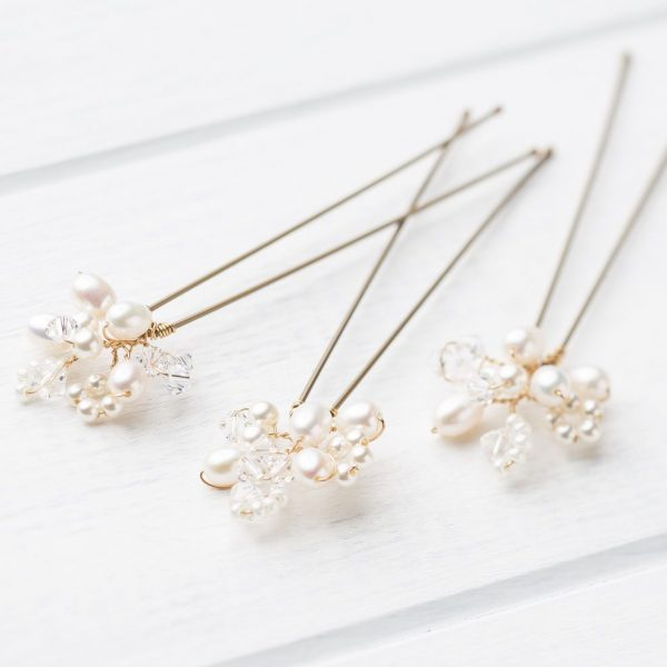 Lucy Wedding Hairpins