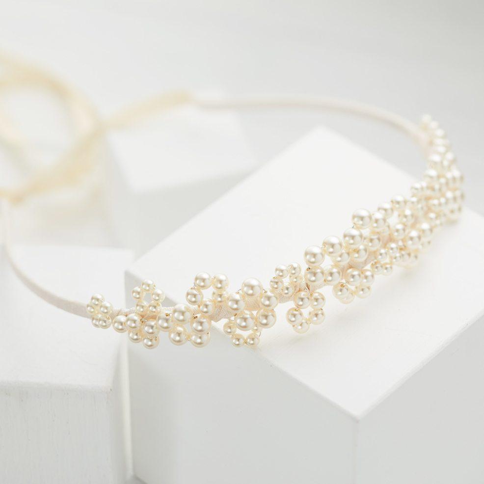 Pearl Wedding Tiara