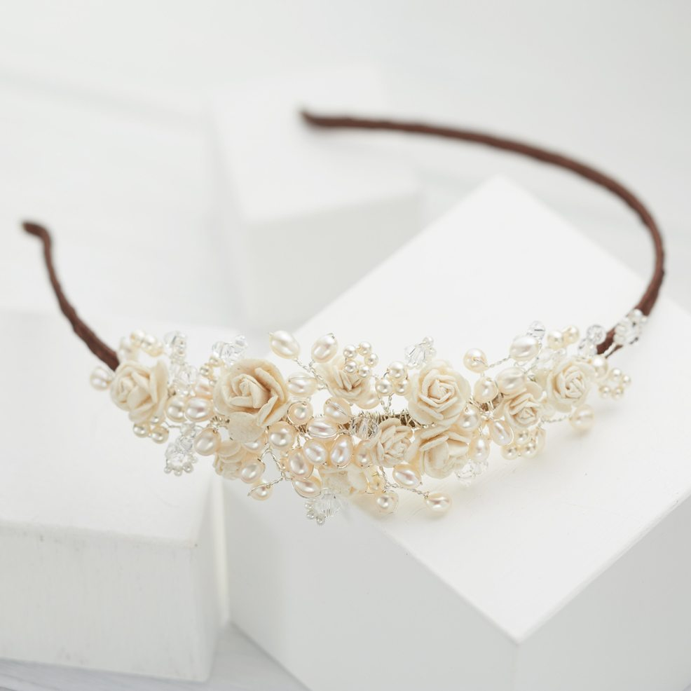 Rose-Wedding-Headpiece
