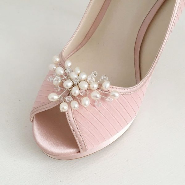 Evie Wedding Shoe Clips