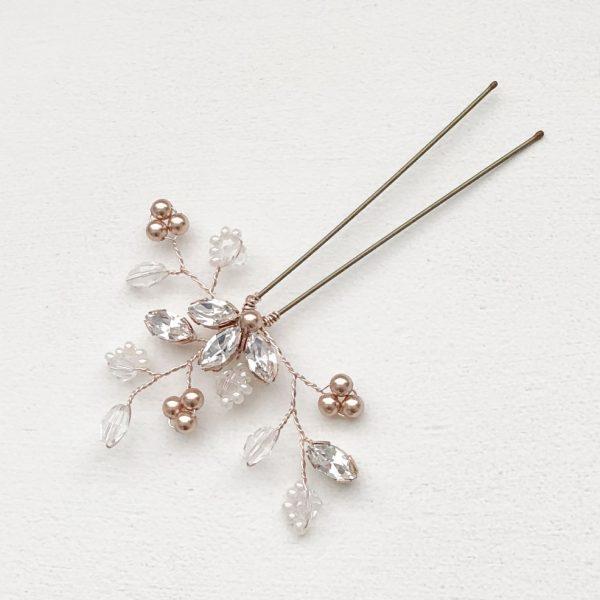 Felicity Rose Gold Hair Pin