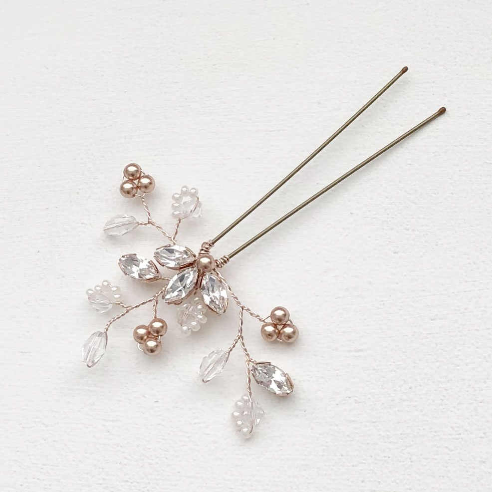 Felicity Rose Gold Hair Pin