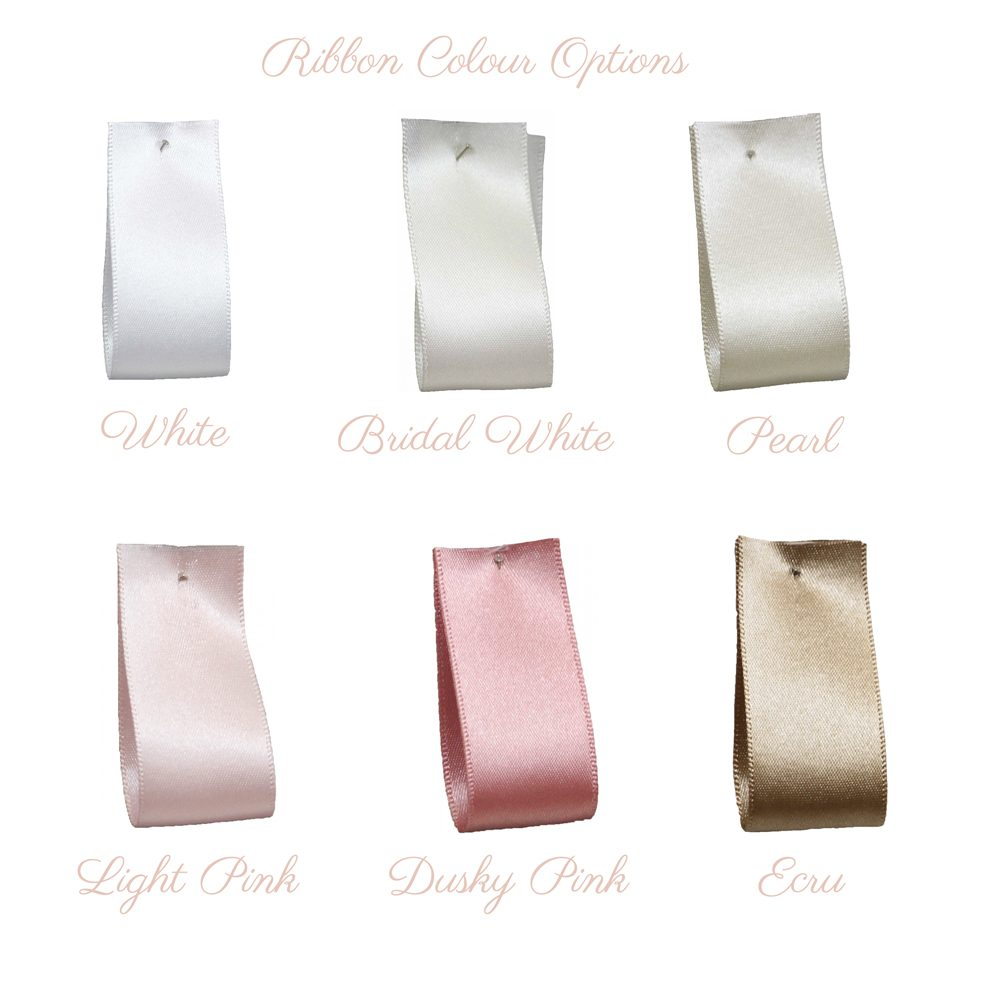 satin ribbon colour options